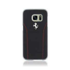 Coque Samsung Galaxy S7 G930 Ferrari 488 noire