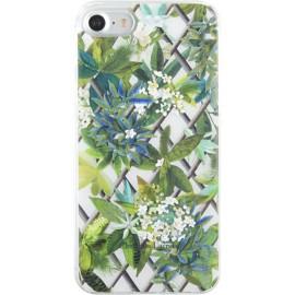 Coque iPhone 7 Christian Lacroix Canopy blanc vert
