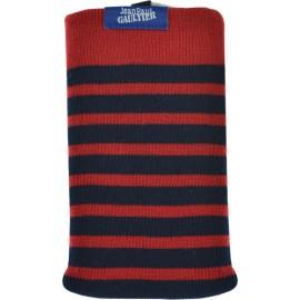 Chaussette Jean Paul Gaultier marinière rouge et bleue