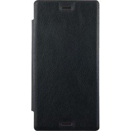 Etui Sony Xperia XZ folio noir de Bigben