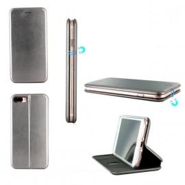 Etui iPhone 7 Plus folio Business Gris