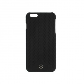 COQUE APPLE IPHONE 6 plus / 6S plus MERCEDES micro perforée noire