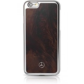 COQUE APPLE IPHONE 6 plus / 6S plus MERCEDES Natural wood brun