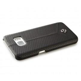 Coque Samsung Galaxy S7 G930 Mercedes perforé noir