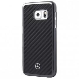 Coque Samsung Galaxy S7 G930 Mercedes carbone noir