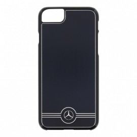 COQUE APPLE IPHONE 7 MERCEDES ALUMINIUM BLACK