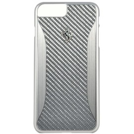 Coque iphone 7 plus Ferrari GT EXPERIENCE Carbone gris