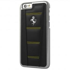 Coque iphone 6 / 6s Ferrari 458 cuir noir