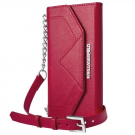 Etui iPhone 6 / 6S Karl Lagerfeld Clutch Classic rouge