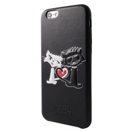 Coque iPhone 6 / 6s Karl Largerfeld choupette noir