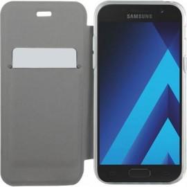 Etui Samsung Galaxy A3 A320 2017 folio crystal noir de Bigben