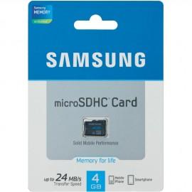 Carte Micro SD 4Go origine Samsung
