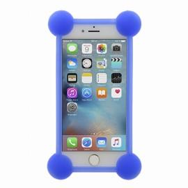 Bumper Universel silicone bleu avec contours lumineux