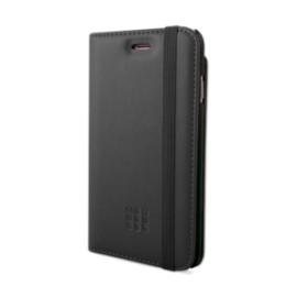 Etui iPhone 5 / 5S / SE Folio Moleskine noir pocket cards