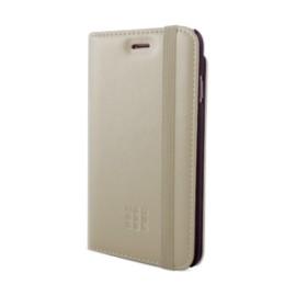 Etui iPhone 5 / 5S / SE Folio Moleskine beige pocket cards