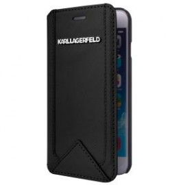 Etui iPhone 6 PLUS / 6S PLUS Karl Lagerfeld Folio noir