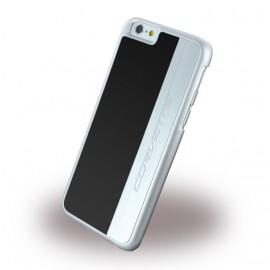 Coque iphone 6 plus / 6s plus Corvette Silver Brushed Aluminium