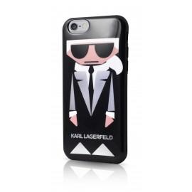 Coque iPhone 6 / 6s Karl Largerfeld K-Kocktail noir