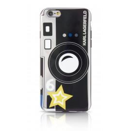 Coque iPhone 6 / 6s Karl Largerfeld motif Caméra noir