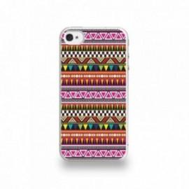 Coque  iPhone 4/4S Silicone motif Pattern Coloré