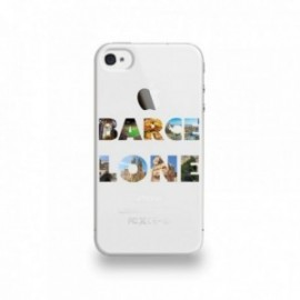 Coque  iPhone 4/4S Silicone motif Barcelone