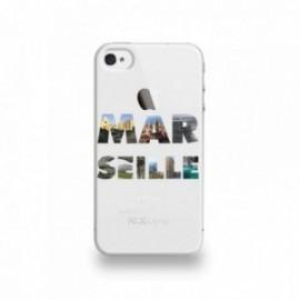 Coque  iPhone 4/4S Silicone motif Marseille