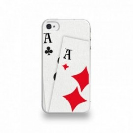 Coque  iPhone 4/4S Silicone motif The American Airelines Hand