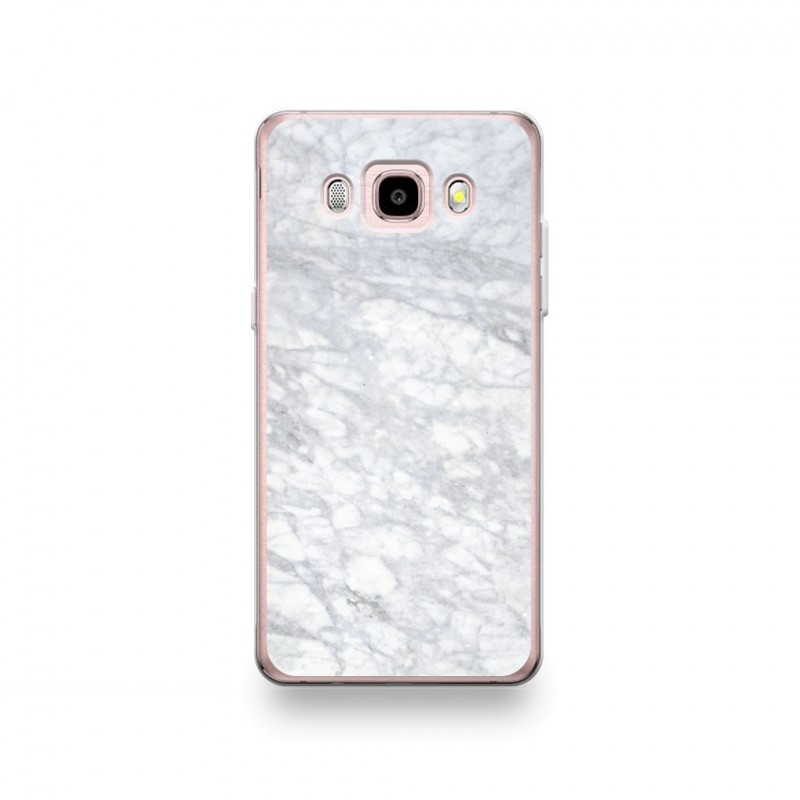coque samsung galaxy j5 2016 silicone motif marbre blanc. Black Bedroom Furniture Sets. Home Design Ideas