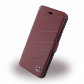 Etui Apple iPhone 7 Mercedes Benz Organic I MEFLBKP7CLRE  folio rouge