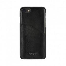 Coque iPhone 7 Bugatti cuir Londra noire