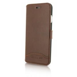 Etui iphone 7 plus Cerruti 1881 folio marron