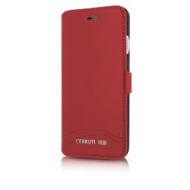 Etui iphone 6 / 6s Cerruti 1881 folio rouge