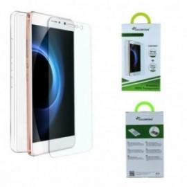 Pack Huawei Y6-2 protection verre trempe + minigel transparente