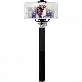 Perche télescopique avec déclencheur photo sans fil et trepied de Bigben