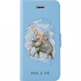Etui iPhone 5 / 5S / SE Paul and Joe bleu Arche de Noé