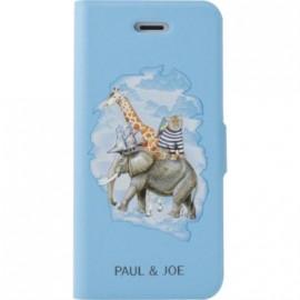Etui iPhone 4 / 4S Paul and Joe bleu Arche de Noé