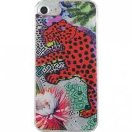 Coque iPhone 7 Christian Lacroix Panthera rouge