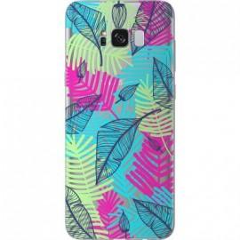 Coque Samsung Galaxy S8 G950 feuillage tropical de Bigben