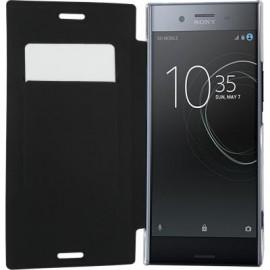 Etui Sony Xperia XZ Premium folio noir de Bigben