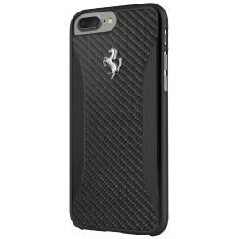 Coque iphone 7 plus Ferrari GT EXPERIENCE Carbone noir