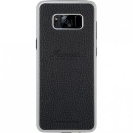 Coque Samsung Galaxy S8 Façonnable noire collection French Riviera