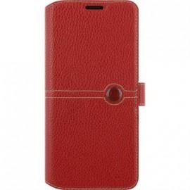 Etui Samsung Galaxy S8 G950 Façonnable folio rouge