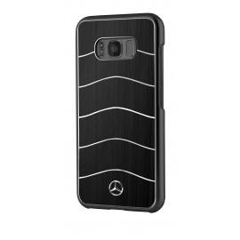 Coque Samsung Galaxy S8 plus G955 Mercedes Wave VIII Brushed Aluminium black