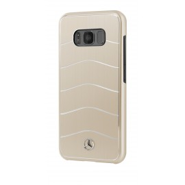 Coque Samsung Galaxy S8 G950 Mercedes Wave VIII Brushed Aluminium Or