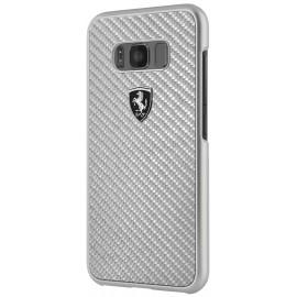 Coque Samsung Galaxy S8 G950 Ferrari Héritage Collection argent
