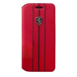 Etui iphone 6 plus / 6s plus / 7 plus Ferrari folio URBAN Collection rouge