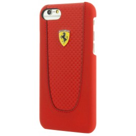 Coque iphone 7 plus Ferrari Pit Stop rouge