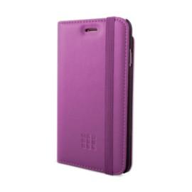Etui iPhone 5 / 5S / SE Folio Moleskine violet