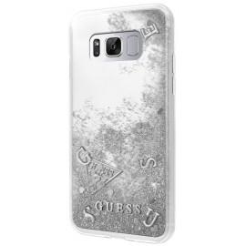 Coque Samsung Galaxy S8 Guess Glitter Silver