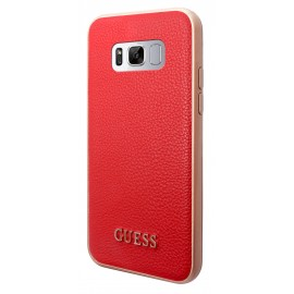Coque Samsung Galaxy S8 plus Guess Iridescent Scarlet Red
